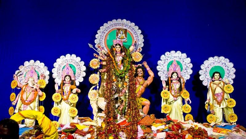 Durga Pujo 2014 @ Jamshedpur - Maha Navami (4/6)
