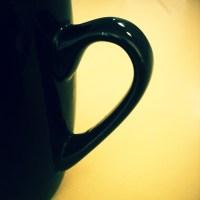 Half cup coffee