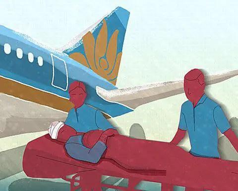Báo Hàn ca ngợi Vietnam Airlines hoãn chuyến bay để vận chuyển hành khách Hàn Quốc bị thương nặng - Ảnh 3.