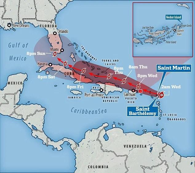 Bộ ba siêu bão đang hoành hành dữ dội trên Đại Tây Dương - Ảnh 4.