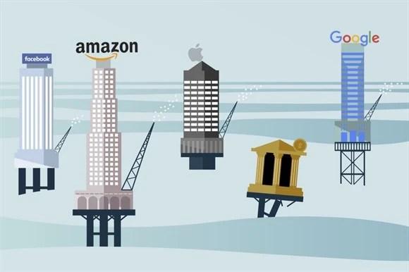 """Google, Apple, Facebook và Amazon đang """"điều khiển"""" thế giới - Ảnh 2."""