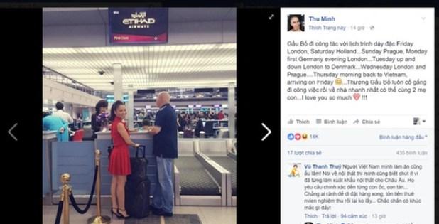 """Rời Việt Nam khi đang bị tố """"lừa"""" hàng chục tỷ đồng, chồng Thu Minh đang thách thức các chủ nợ?"""