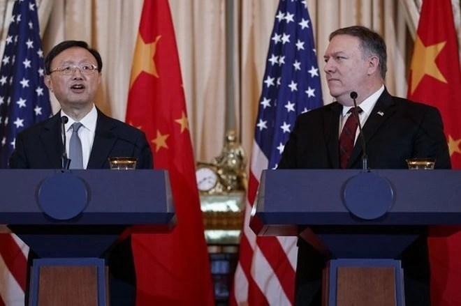 """Đối thoại ngoại giao và quốc phòng Mỹ - Trung lần 2: """"Ông nói gà, bà nói vịt"""" - Ảnh 4."""