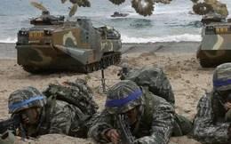 Triều Tiên nổi đóa với tập trận quân sự quy mô nhỏ Mỹ-Hàn