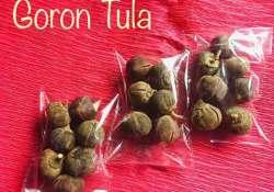 Goron Tula health benefits