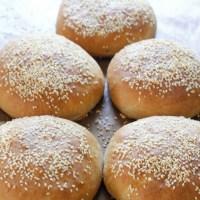 Verdens beste halvgrove hamburgerbrød
