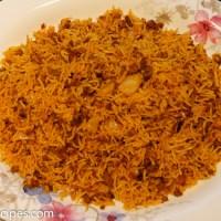 Ris med kjøttdeig og hodekål