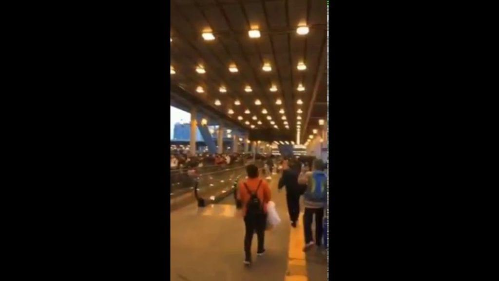 【武漢肺炎】逃離深圳!封城前晚民眾瘋狂湧入香港 - 歐洲希望之聲
