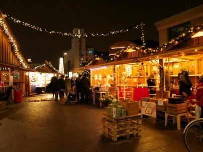 At a Christmas market