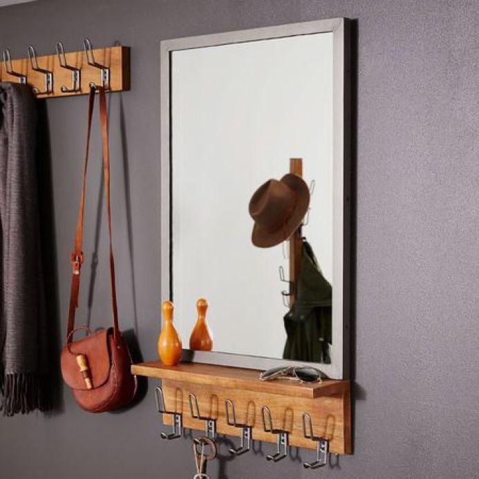 mirror at entryway