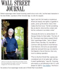 David Downing profile in the Wall Street Journal