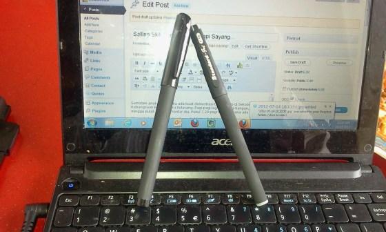 pen tahan lasak