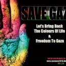 SAVE GAZA banner
