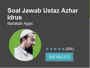 Applikasi Soal Jawab Ustaz Azhar Idrus
