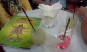 Refreshment yang disediakan