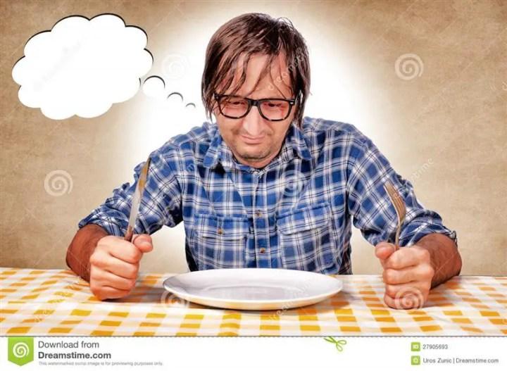 Berlapar ketika puasa adalah ujian untuk merasai sendiri macamana orang miskin berlapar