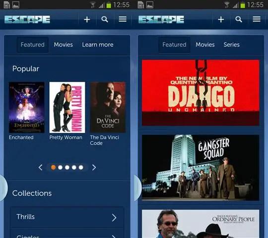 Senarai filem atau movie popular escapenow
