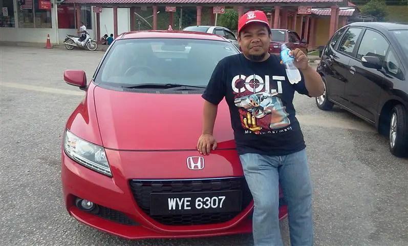 sohoque bersama Honda CR-Z