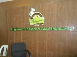 Hananut jenama keluaran Aisyhana Cookies & Food Industries
