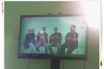 shooting video brosur di studio bleu nagas