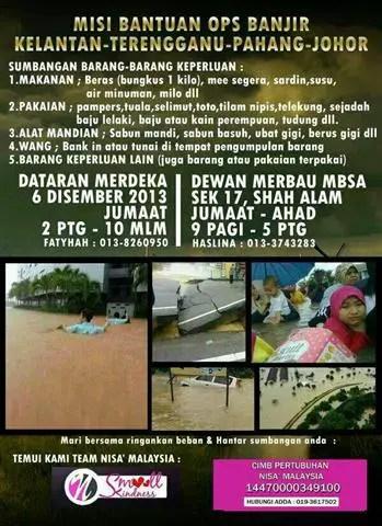 Misi bantuan ops banjir