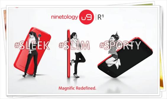 U9R1 smartphone terbaru daripada Ninetology