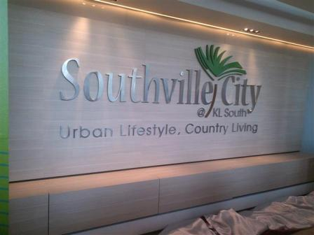 papan tanda southville city