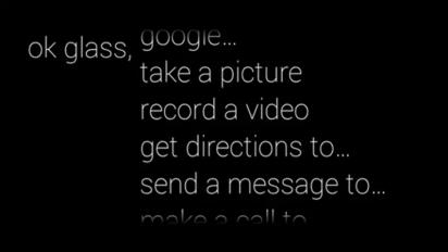 cara arah google glass