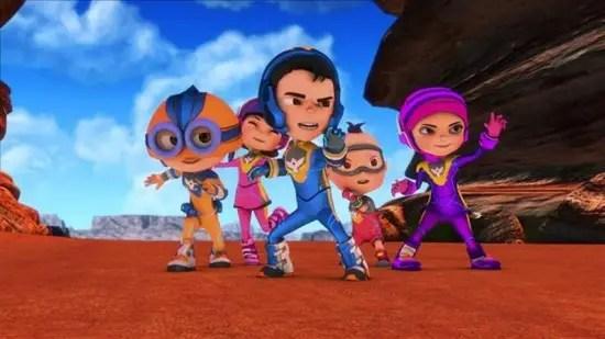 Super Squad Menambah Rencah Dunia Animasi