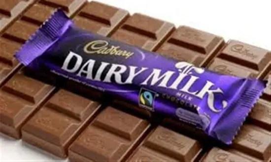 Coklat Cadbury Diary Milk yang dikatakan ada DNA babi