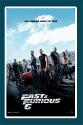 Fast And Furious 6 8pm - 11:15pm