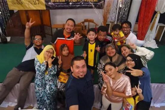 antara blogger yang dijemput ke iftar anjuran Casa Ombak