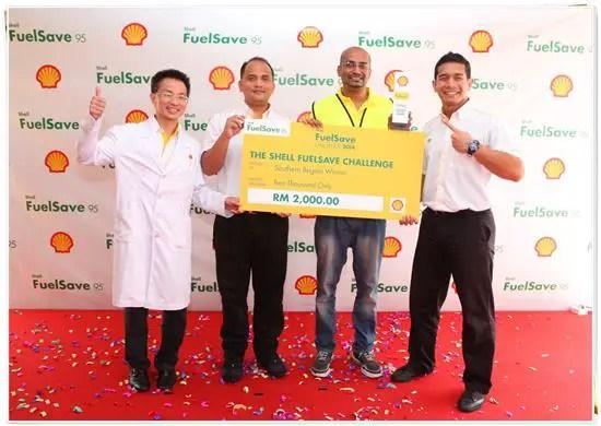 Inilah pemenang cabaran Shell Fuelsave Challenge 2014 peringkat wilayah selatan