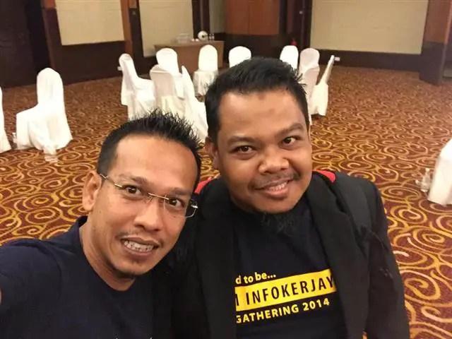 Selfie dengan Zeo Unic