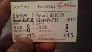 gambar tiket wayang