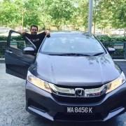 pandu uji honda city baru 2015