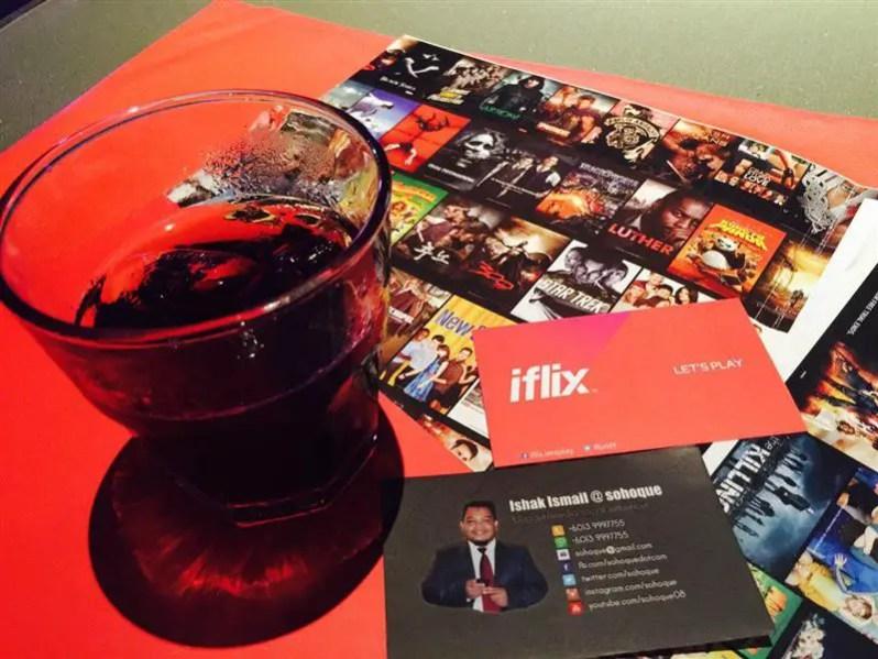 Di Majlis pengumuman kerjasan antara iFlix dan Digi