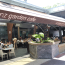 restoran NZ Garden Cafe depan KLCC