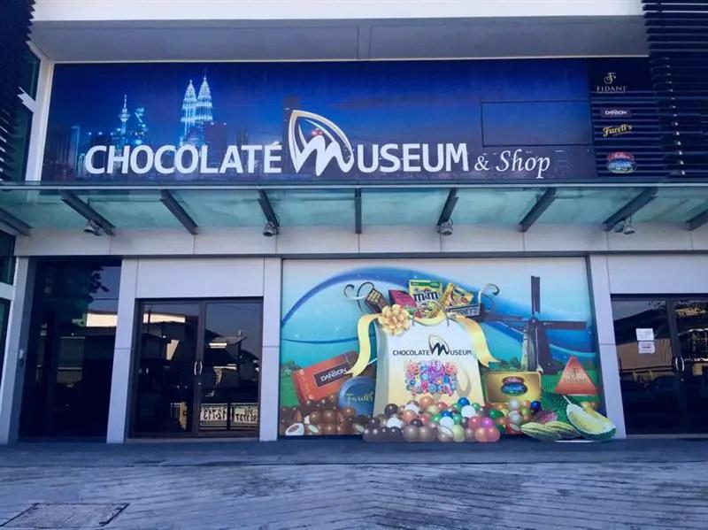 chocolate-museum-kota-damansara-signboard