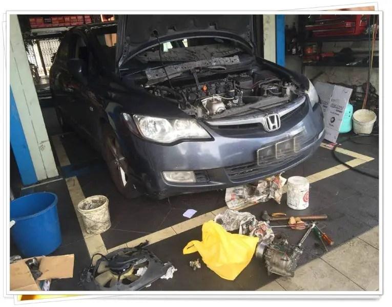 Honda Civic 8th Gen - Masa Untuk Tukar Air Cond