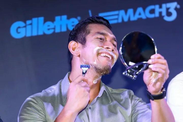 Gillette Mach 3 fahrin ahmad