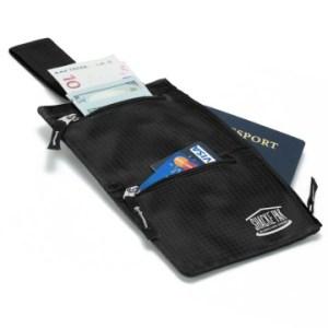 Shacke hidden travel bel wallet