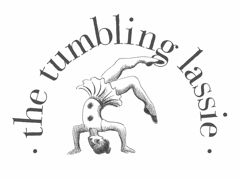 The Tumbling Lassie logo.indd
