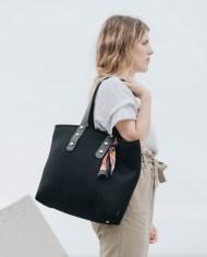 shopper negro modelo 1