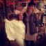 Anastasia and Bartok costumes for Halloween trivia!! Oh and we won!!