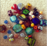 Found some of my homemade beads while packing! Can't wait to get back to making them!!