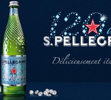 San Pellegrino 120 ans Bouteille Diamond