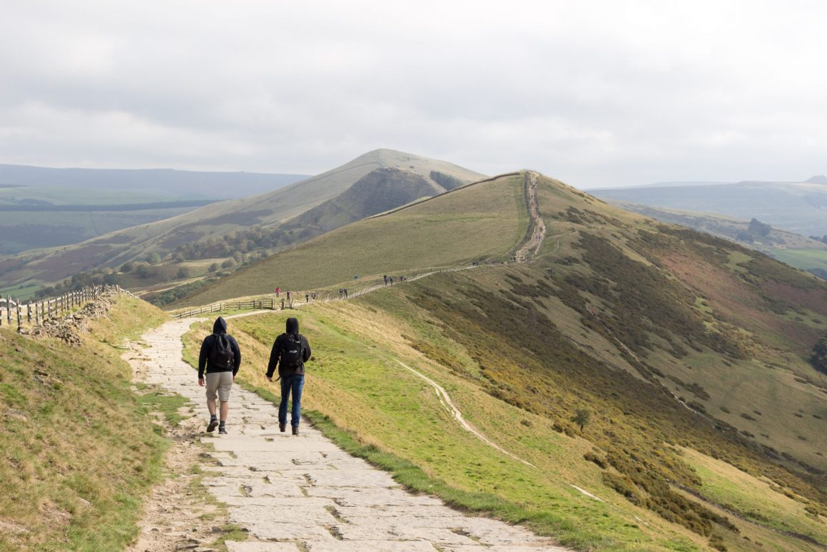 Randonnée Mam Tor Peak District