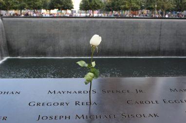 Mémorial aux victimes du 11 septembre 2001