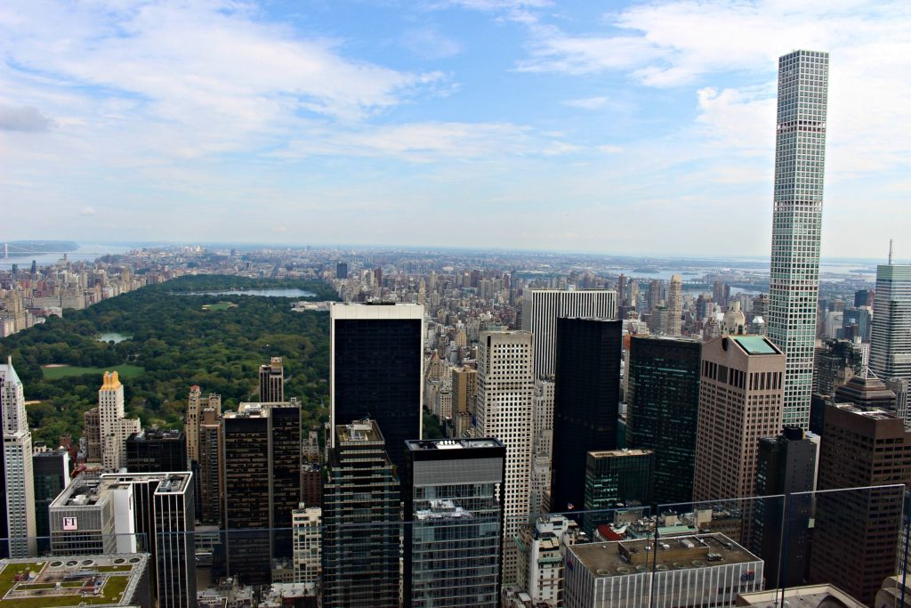 Vue depuis le Top of the Rock
